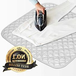 Eutuxia Magnetic Ironing Blanket. Alternative for Iron Board