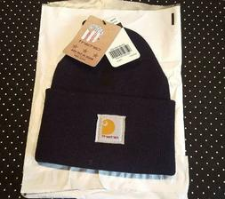 CARHARTT Knit Hat - NAVY BLUE - New With Tags - U.S.A. Made