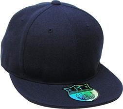 KBETHOS KNW-2364 NAV  The Real Original Fitted Flat-Bill Hat