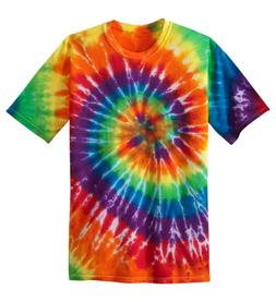 Koloa Surf Co. Youth Colorful Tie-Dye T-Shirt , Youth Small,