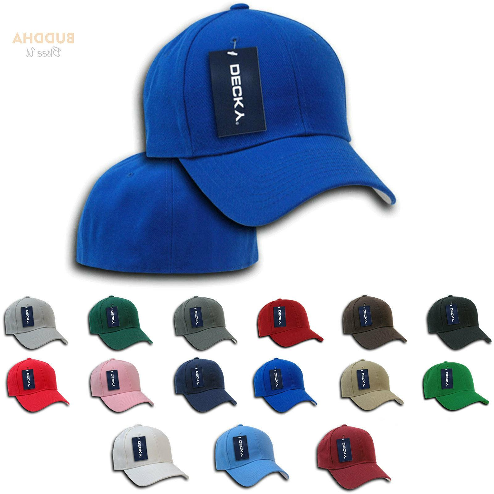 1 Dozen Plain Fitted Bill Hats Caps Wholesale