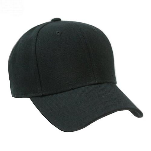 2 pack plain solid fitted baseball cap