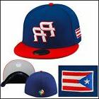 "New Era 2017 WBC ""PR"" Fitted Hat Cap ROYAL/RED/THREAD Puerto"
