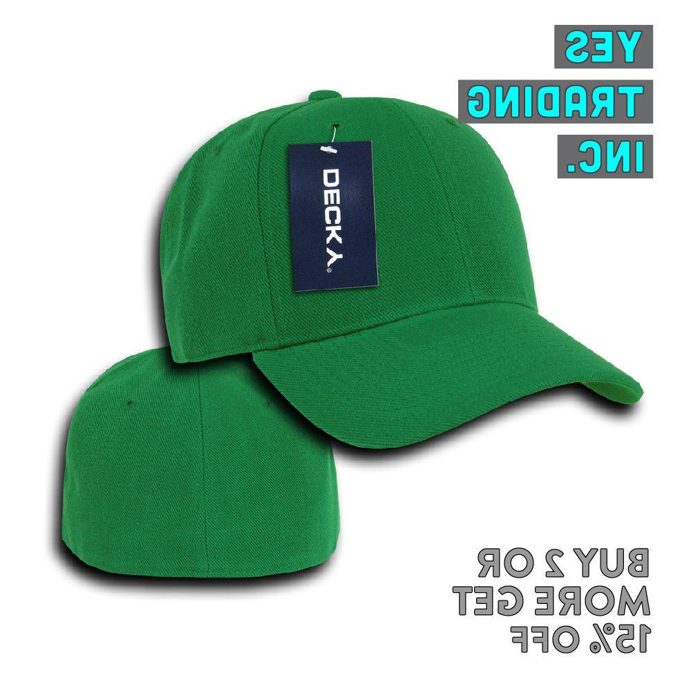 DECKY 402 CLASSIC CASUAL PLAIN CAP FITTED CAPS