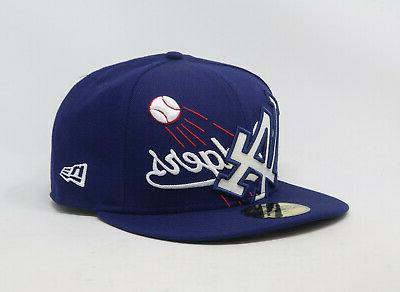 59fifty hat los angeles dodgers mens blue