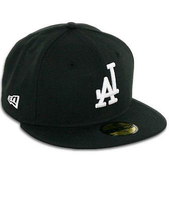 59fifty los angeles dodgers la fitted hat