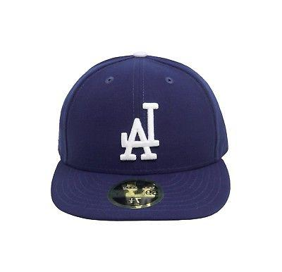 New MLB Cap Angeles Dodgers Low Profile Game Blue Fitted