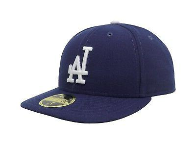 New Era MLB Cap Low Game Blue Fitted