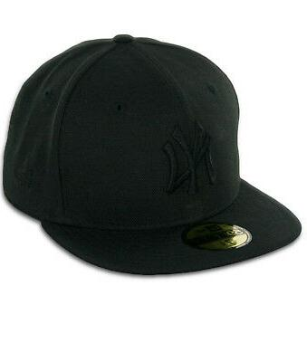 59fifty new york ny yankees blackout fitted