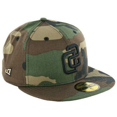 59fifty san diego padres fitted hat woodland