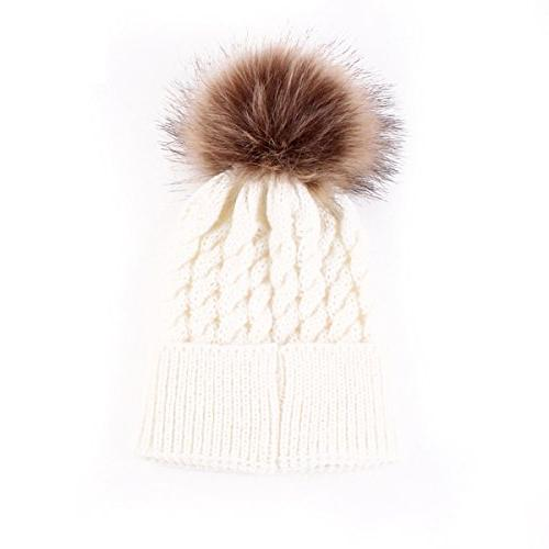 baby winter warm knit hat infant toddler