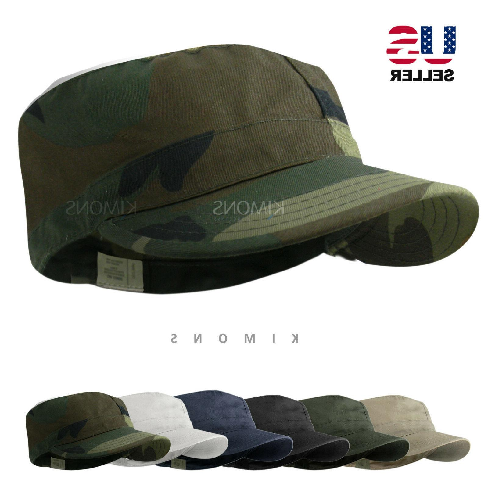 bdu fitted army cadet military cap hat
