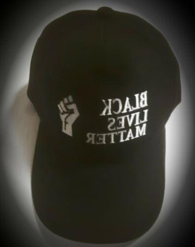 best black lives matter embroidery fitted cap
