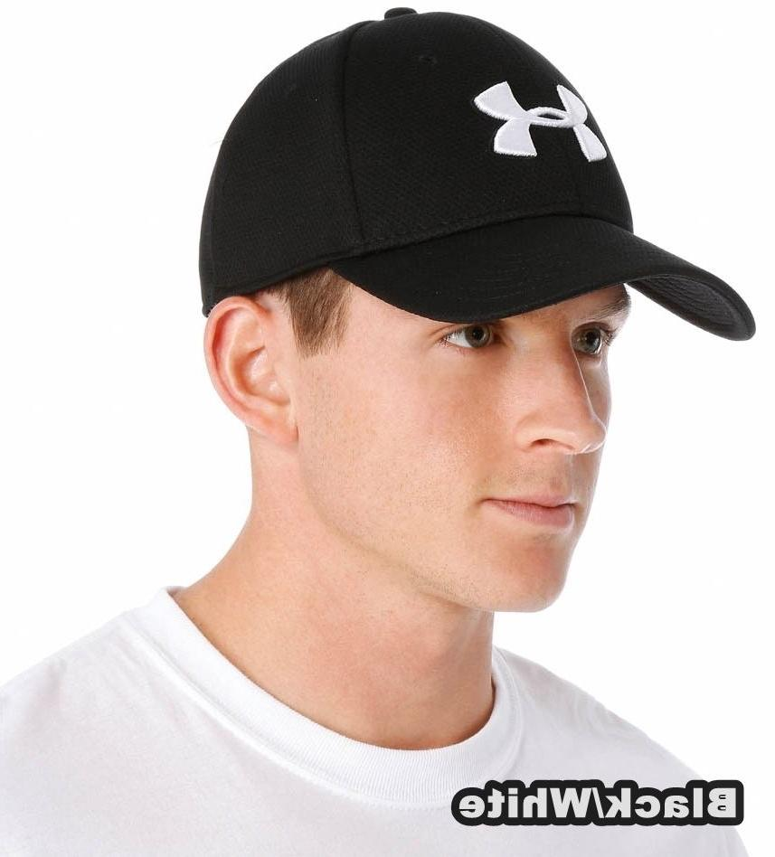 blitzing stretch fit hat hats cap black