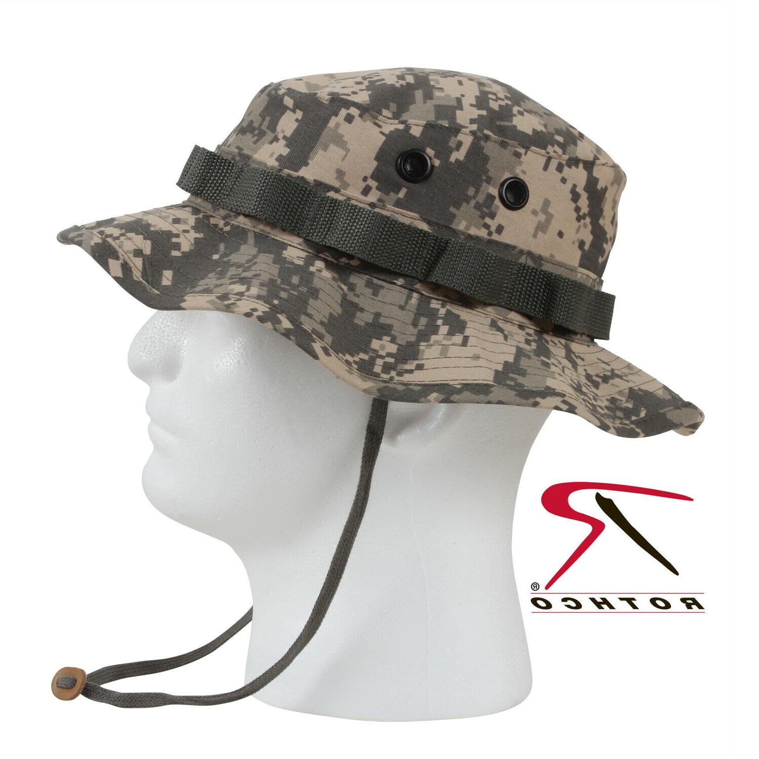 boonie hat acu camo vented fitted ripstop