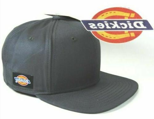 Brand New Men's Dickies Traditional Black Core Flex Fit Cap