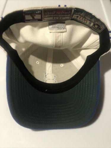 Brooklyn Dodgers Needle 1933 fitted hat/cap 7 white/blue
