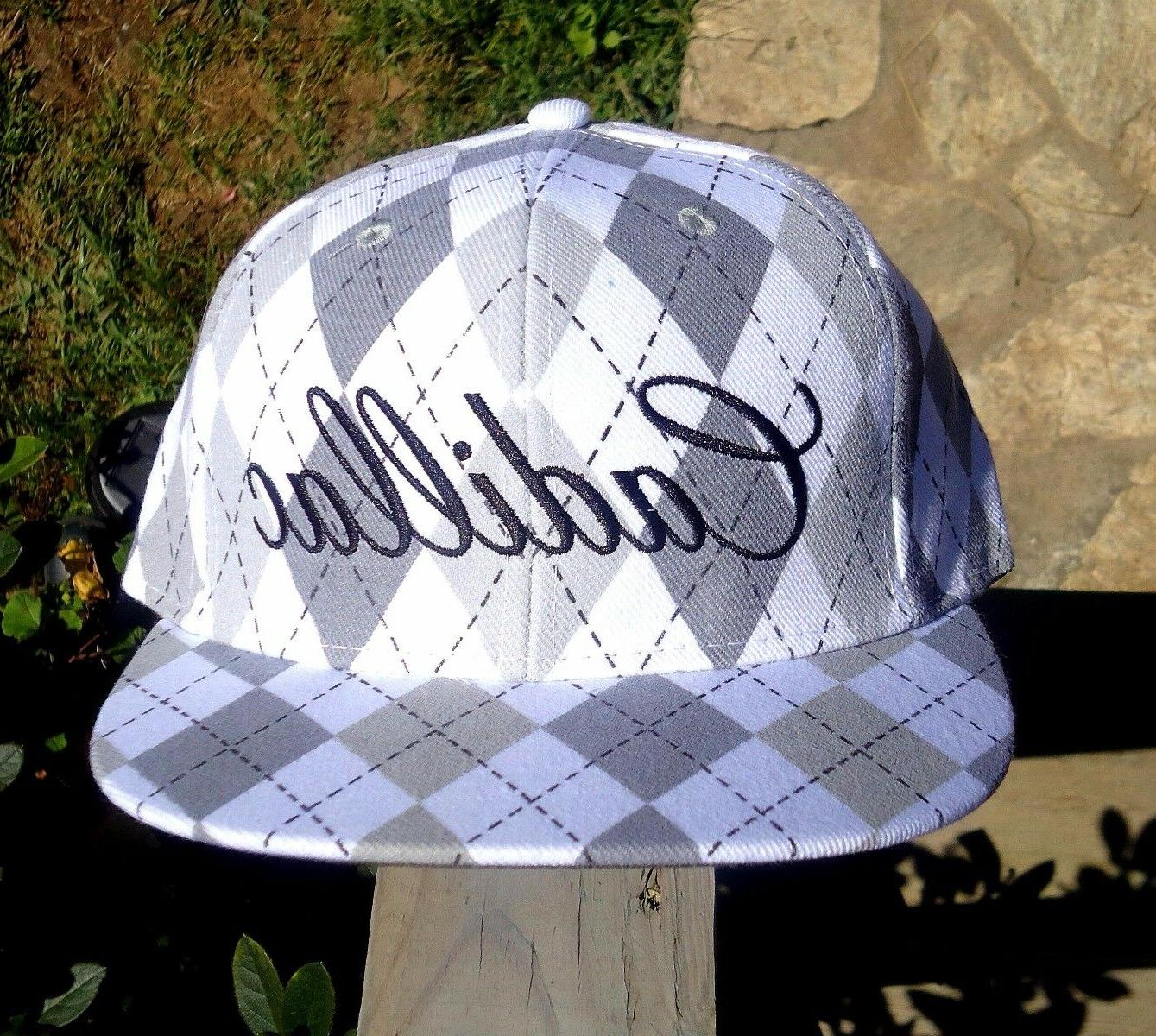 Cadillac Fitted Hat Cap, Licensed GM See Sizes