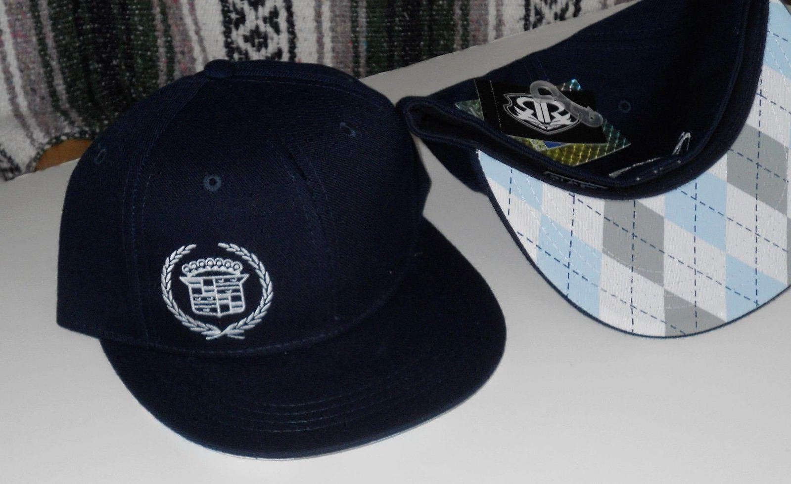 Cadillac Blue Hat Baseball GM New Sizes