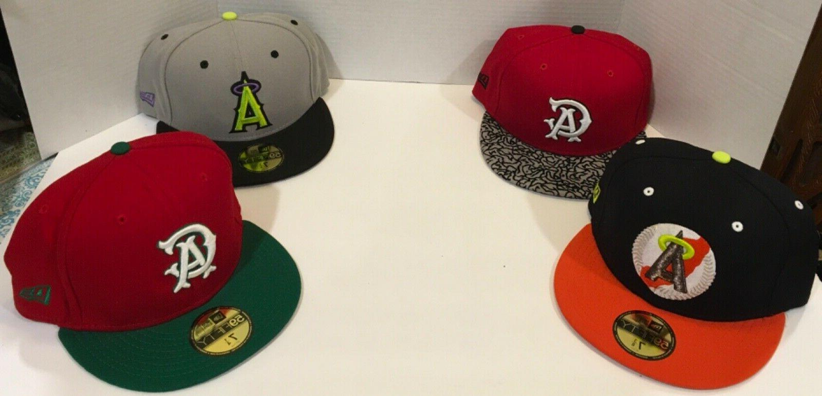 california angels 59fifty fitted hats