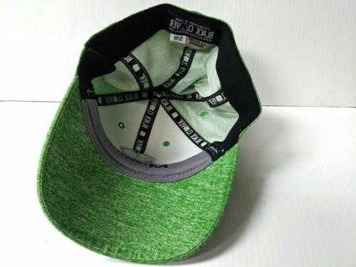 Black Heather Apple Green Fit Golf Hat Lucky