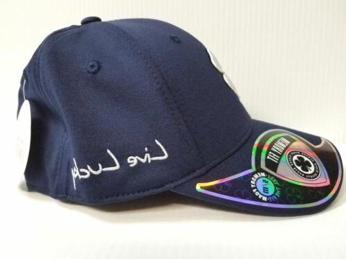 Black Heather Stretch Fit Hat Live Lucky