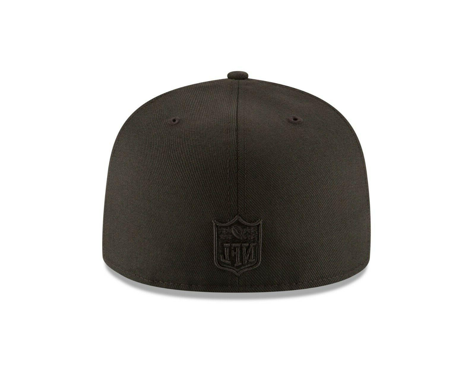 Washington Redskins NFL Classic BLACK ON Fitted
