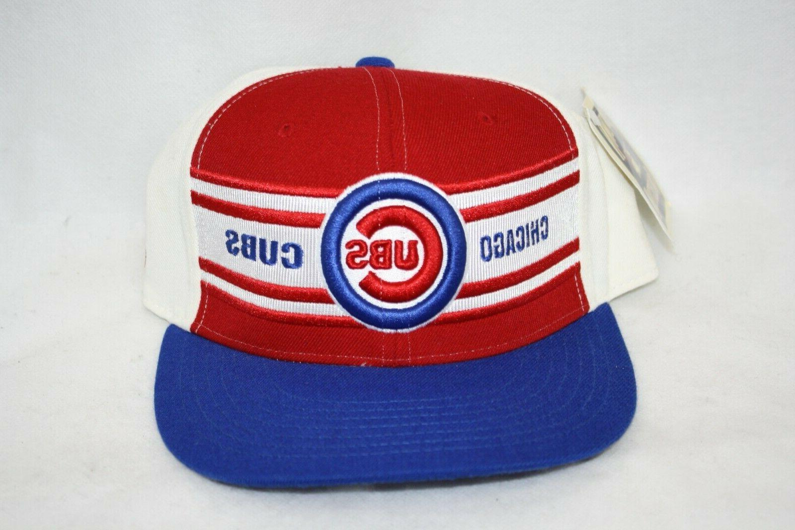 chicago cubs baseball fitted hat cap cooperstown