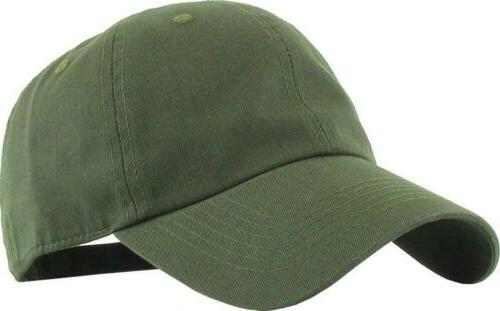 cotton classic polo style baseball olive green