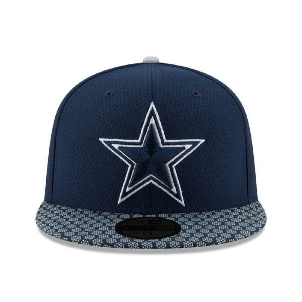 DALLAS COWBOYS Era 59FIFTY ON Sideline FITTED CAP, FLAT 5950 HAT