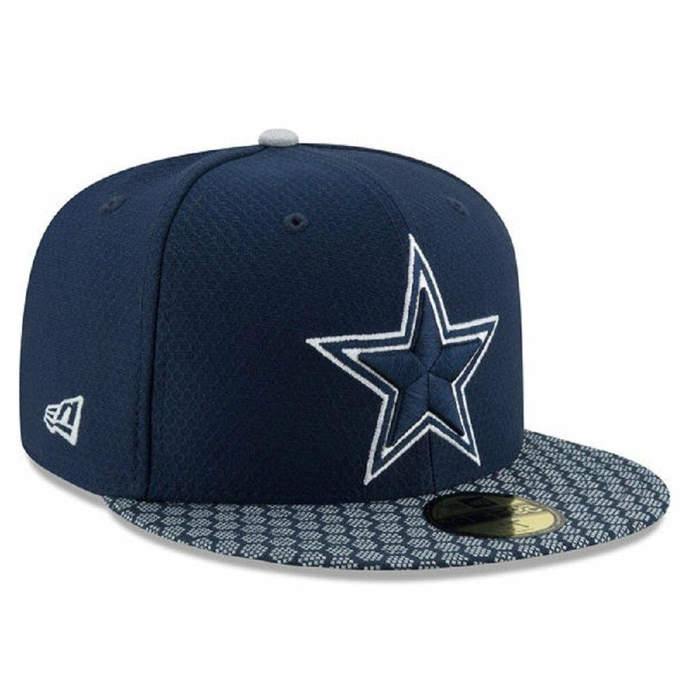 dallas cowboys 59fifty on field sideline fitted