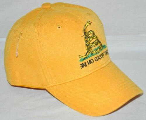 Don't On Gadsden Fit Baseball Hat New!!