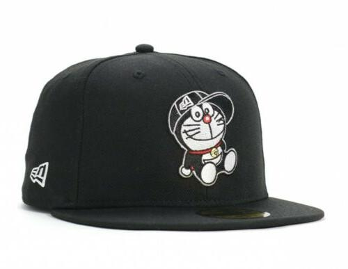 doraemon collaboration 59fifty cap hat fitted sitting