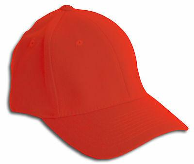 fit all flex fitted hat red