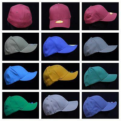 FLEX FIT Men's Baseball Cap Fashion Casual Hat Solid Blank T