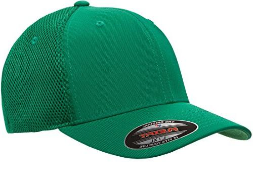 flexfit men s ultrafibre airmesh fitted cap