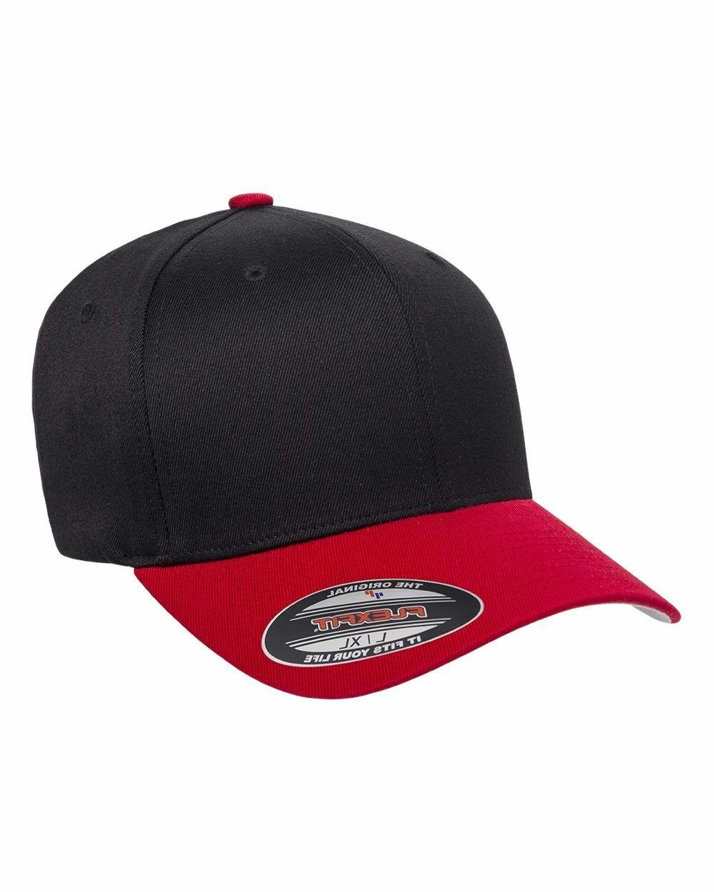 FLEXFIT Structured Twill Hat FITTED 2XL 6277