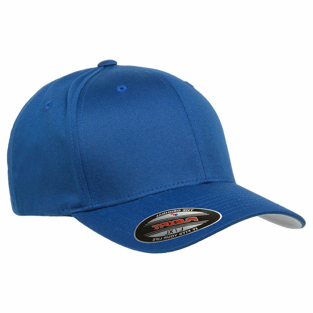 FLEXFIT Twill Hat FITTED Size S/M 2XL Sport 6277