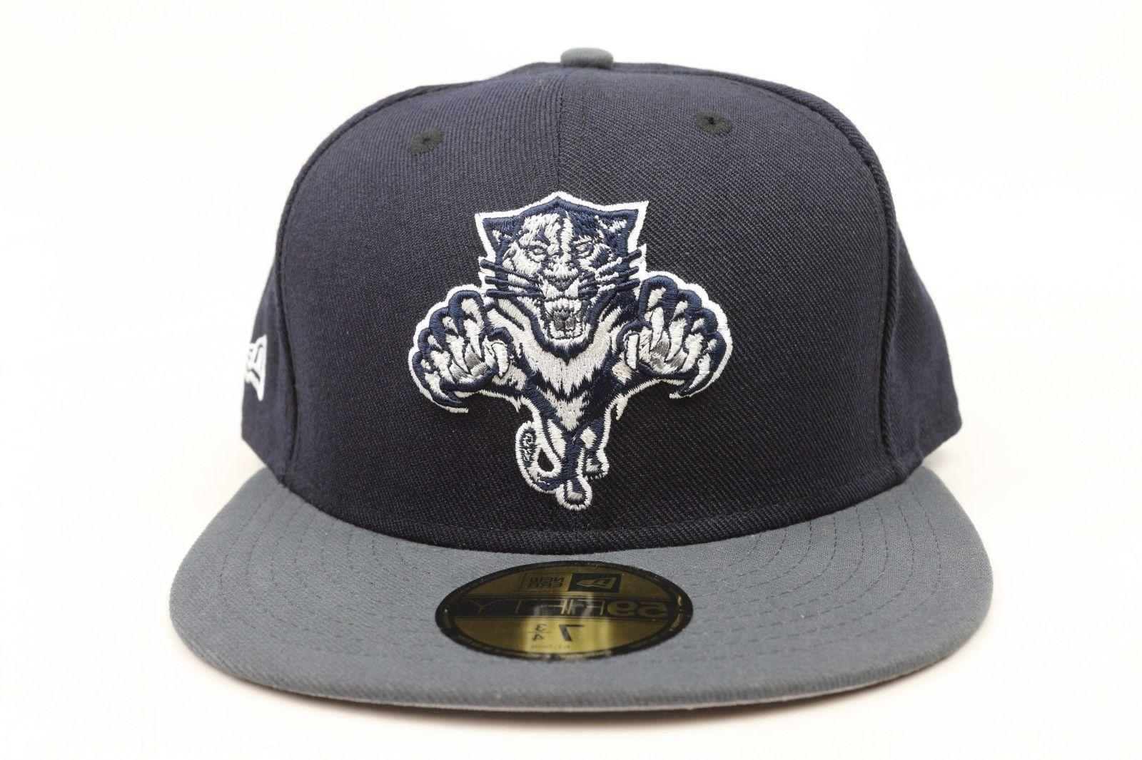 florida panthers navy blue gray silver white
