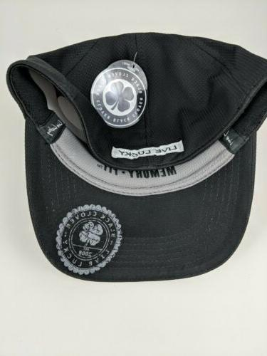 Black Clover ~ Black Fitted Baseball w/ Memory Fit