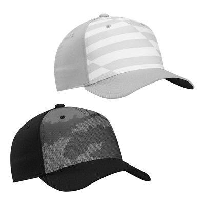 golf printed colorblock fitted hat a flex