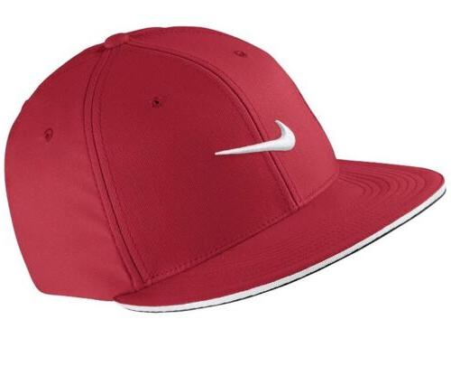 Nike Golf True Statement Tour Fitted Hat University Red Medi