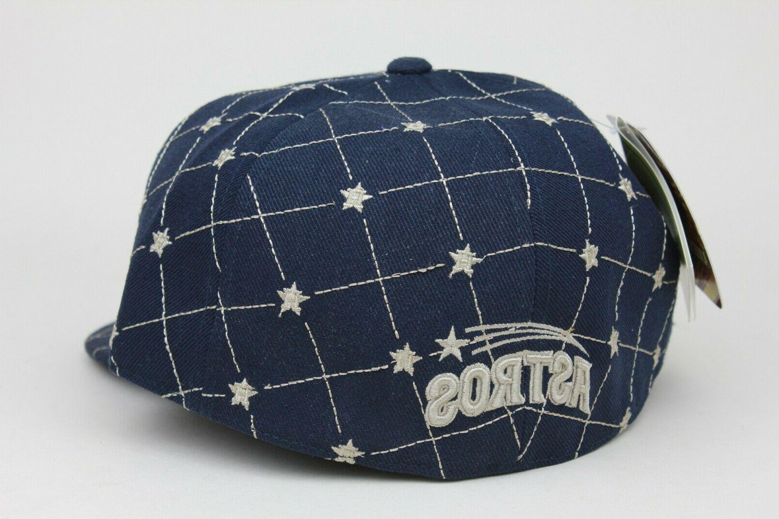 Houston Navy Star American Needle Fitted Hat Cap