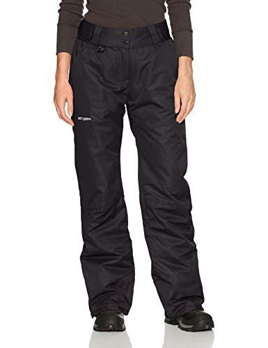 Arctix Women's Insulated Snow Pant, Black, 2X-Large/Regular