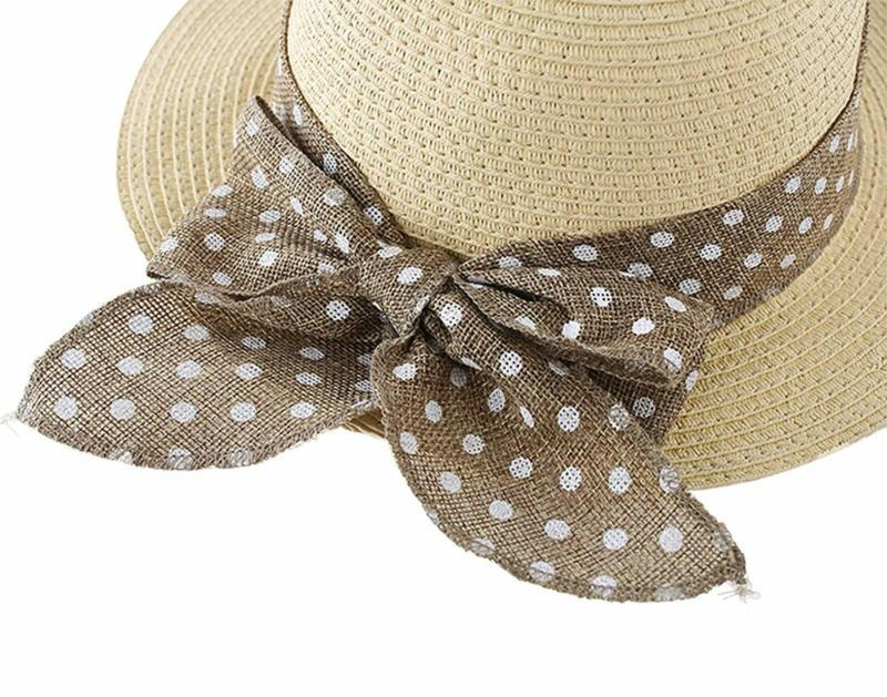 Connectyle Summer Straw Hat