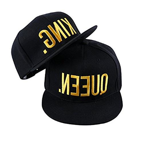 king and queen hat lovers couples snapback