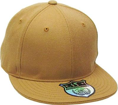 KBETHOS KNW-2364 TIM 8 The Real Original Fitted Flat-Bill Ha