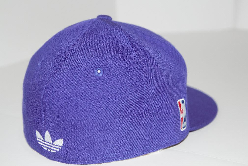 Los Lakers New Adidas LA Fitted Purple Pick Size