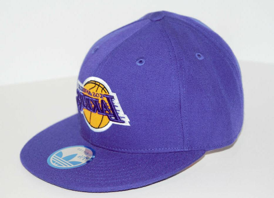 Los Angeles Lakers New Lakers Fitted Flat Pick Size