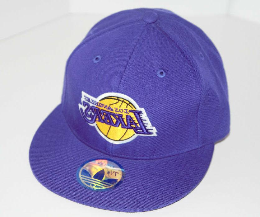 Los Lakers New Lakers Fitted Brim Pick Size